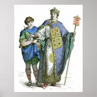 Emperador bizantino póster