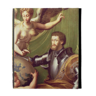 Emperador Charles V (1500-58) que recibe el mundo,