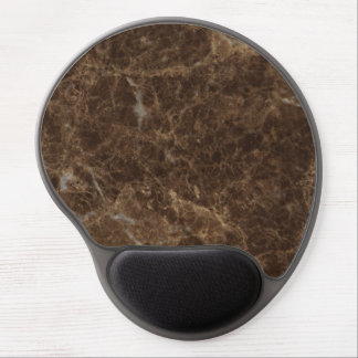 Emperador Claro Stone Pattern Background Gel Mouse Pad