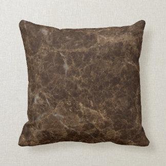 Emperador Claro Stone Pattern Background Pillow