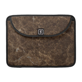 Emperador Claro Stone Pattern Background Sleeve For MacBooks