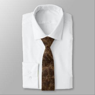 Emperador Claro Stone Pattern Background Tie
