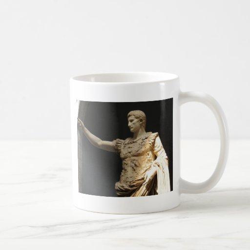 Emperador Constantina, primer emperador romano cri Taza De Café