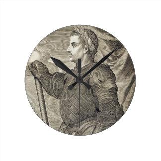 Emperador de D Claudius César de Roma a partir de Reloj De Pared