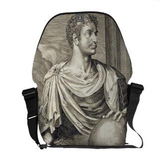 Emperador de D. Octavius Augustus (ANUNCIO 63 A.C. Bolsas Messenger