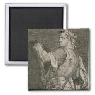 Emperador de D. Titus Vespasian del engrav del ANU Imán Cuadrado