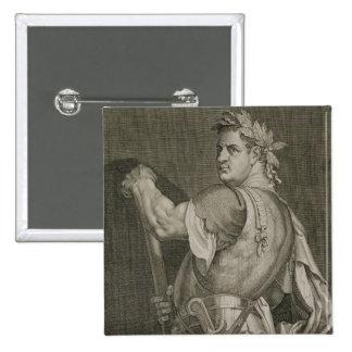 Emperador de D. Titus Vespasian del engrav del ANU Pin Cuadrado