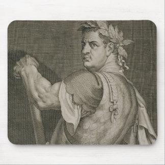 Emperador de D. Titus Vespasian del engrav del ANU Tapetes De Ratón