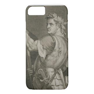 Emperador de D. Titus Vespasian del engrav del Funda iPhone 7