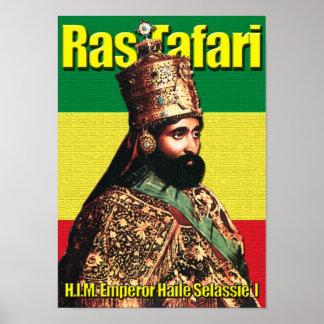 Emperador de Haile Selassie I de Etiopía, Ras Póster