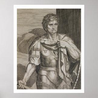 Emperador de Nero Claudius César del ANUNCIO de Ro Impresiones