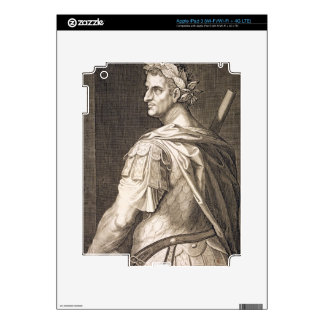 Emperador de Tiberius César (ANUNCIO 10 A.C. - 54) iPad 3 Skins