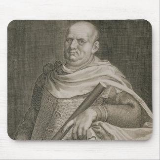 Emperador de Vespasian (ANUNCIO 9-79) del engra de Tapetes De Ratón