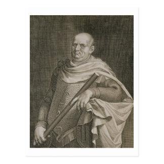 Emperador de Vespasian (ANUNCIO 9-79) del engra Postal