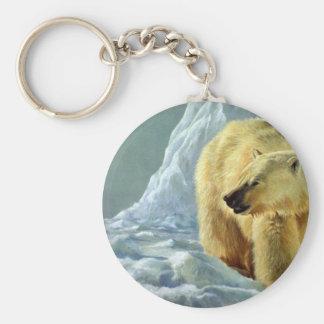 Emperador del oso del norte, polar llaveros