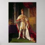 Emperador Francisco II de Austria Póster