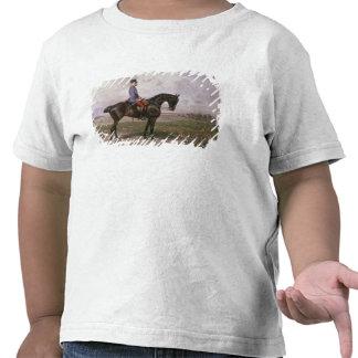 Emperador Francisco José I en su caballo austríaco Camiseta