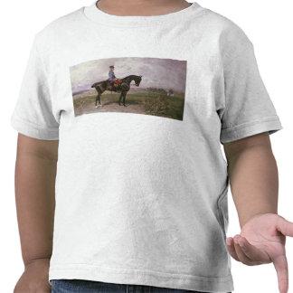 Emperador Francisco José I en su caballo austríaco Camisetas