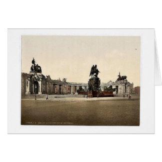 Emperador Guillermo I. Monument, visión general, B Tarjetas