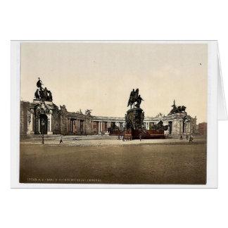 Emperador Guillermo I. Monument, visión general, B Felicitacion