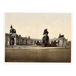 Emperador Guillermo I. Monument, visión general, B Tarjeta Postal