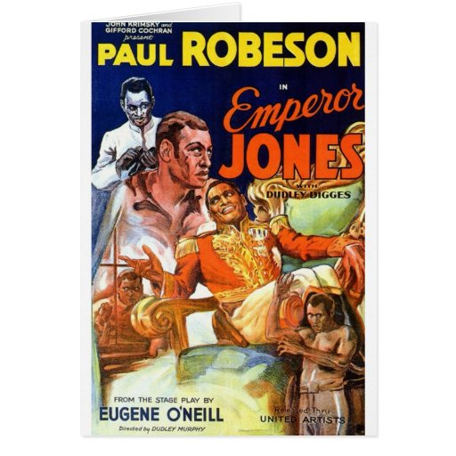 Emperador Jones Tarjeta De Felicitación