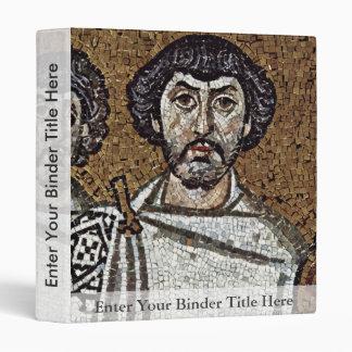 Emperador justiniano y su corte, y obispo Maxim