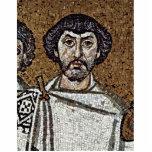 Emperador justiniano y su corte, y obispo Maxim Esculturas Fotográficas