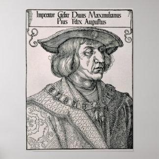Emperador Maximiliano I de Alemania Póster