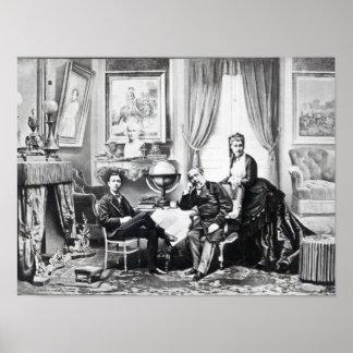 Emperador Napoleon III Póster