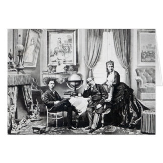 Emperador Napoleon III Tarjeta