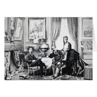 Emperador Napoleon III Tarjeta De Felicitación