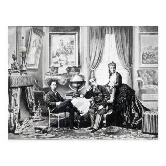 Emperador Napoleon III Tarjeta Postal
