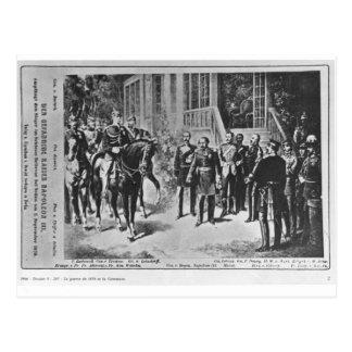 Emperador Napoleon III y Kaiser Wilhelm I Postal