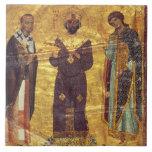 Emperador Nicephorus III Botaniat de Grec Coisl 79 Azulejo Cuadrado Grande
