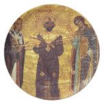 Emperador Nicephorus III Botaniat de Grec Coisl 79 Plato De Cena