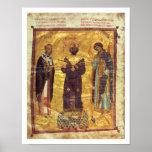 Emperador Nicephorus III Botaniat de Grec Coisl 79 Póster