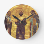 Emperador Nicephorus III Botaniat de Grec Coisl 79 Reloj Redondo Mediano