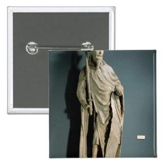 Emperador romano santo de Charles IV Pin Cuadrada 5 Cm