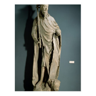 Emperador romano santo de Charles IV Postal