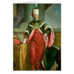 Emperador romano santo de Francisco I del emperado Tarjeta De Felicitación
