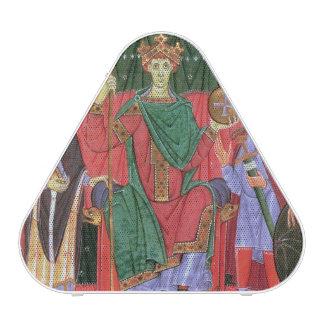 Emperador romano santo Otto de ms Cim.4453 f.42r I Altavoz Bluetooth