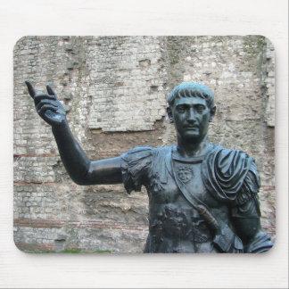 Emperador romano Trajan Mouse Pad