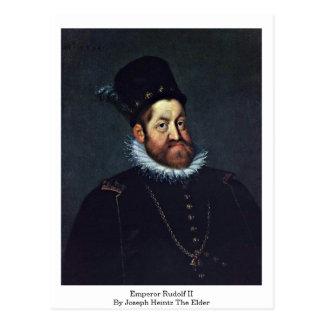 Emperador Rudolf Ii de José Heintz la anciano Tarjetas Postales