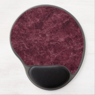 Emperador Wine Stone Pattern Background Gel Mouse Pad