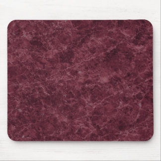 Emperador Wine Stone Pattern Background Mouse Pad