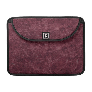 Emperador Wine Stone Pattern Background Sleeve For MacBook Pro