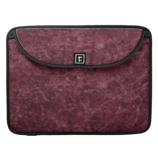 Emperador Wine Stone Pattern Background Sleeve For MacBooks