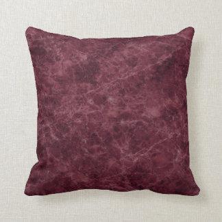 Emperador Wine Stone Pattern Background Throw Pillow