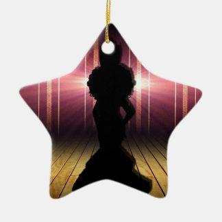 Emperatriz Adorno Navideño De Cerámica En Forma De Estrella
